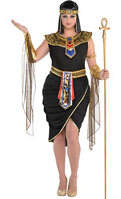 Egyptian roman greek costume accessories party city adult egyptian queen cleopatra costume plus size solutioingenieria Image collections