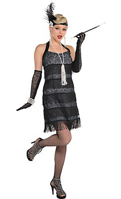 1920s Costumes Flapper Amp Gangster Costumes Party City