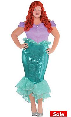 adult ariel costume plus size the little mermaid