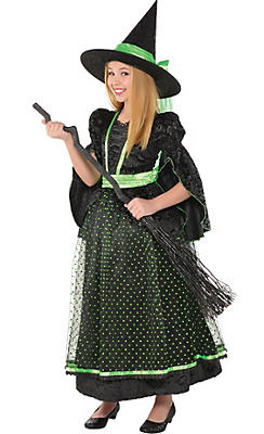 Witch Costumes for Girls - Kids Witch Costumes | Party City Canada