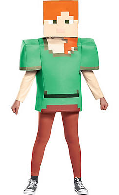 Minecraft Costumes for Kids & Adults | Party CitySteve Minecraft Costume Party City