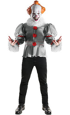 Pennywise Costumes for Adults - Creepy Clown Costumes | Party City ...
