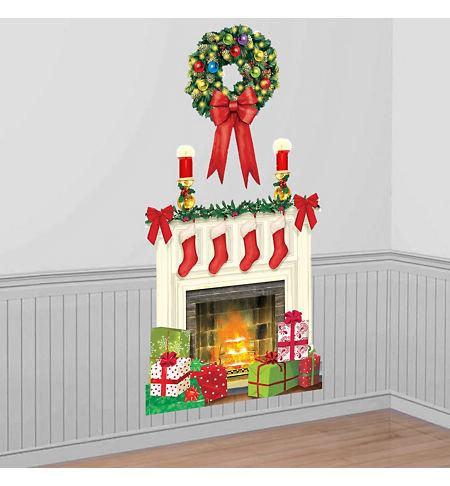 Christmas Scene Setters - Christmas-Themed Vinyl Wall Decorations ...