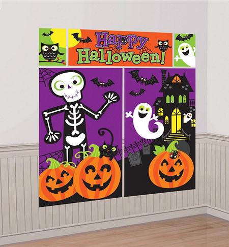 Cute Halloween Scene Setter