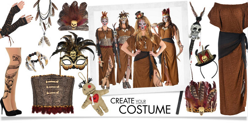Make your Costume - Women's | Party City