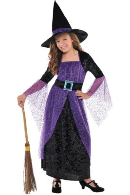 Witch Costumes For Girls Kids Witch Costumes Party City