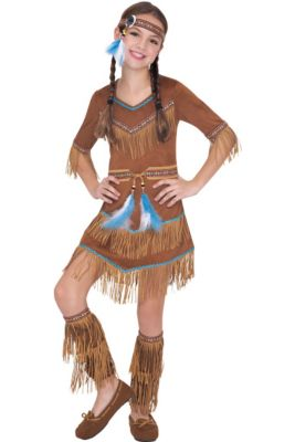 56a2320e5 Indian   Cowboy Costumes - Indian Halloween Costumes