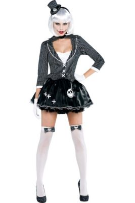adult lady jack skellington costume nightmare before christmas - Nightmare Before Christmas Halloween Costume