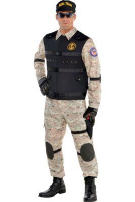 Adult SEAL Team Hero Costume 17ef9b5e2c7d