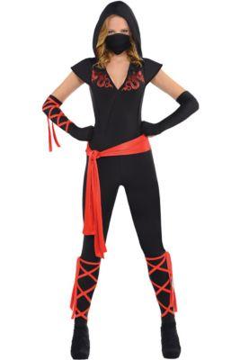 Ninja Halloween Costume Men.Ninja Costumes For Kids Adults Party City