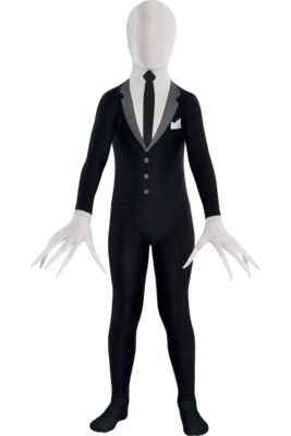 child slender man partysuit