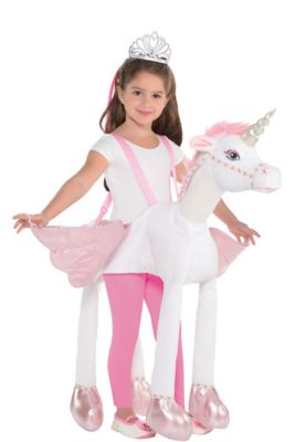 child unicorn ride on costume