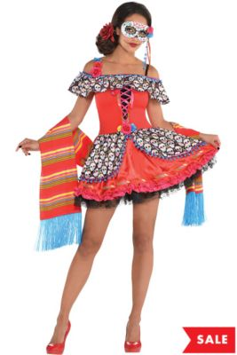 eea1456d5 Day of the Dead Costumes - Day of the Dead Halloween Costumes ...