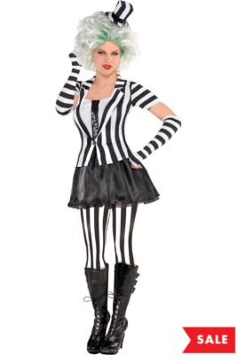 adult mrs beetlejuice costume