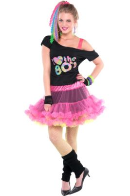 9089dbc207a 80s Costumes - 1980s Punk, Pop & Rock Costumes | Party City