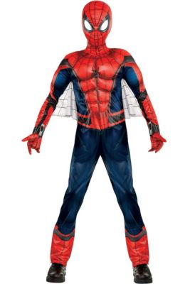 Spiderman Costumes for Kids   Adults - Spiderman Halloween Costumes ... 92c985089b9a