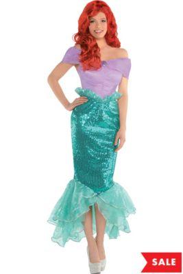 5f5566aa3b4 Disney Princess Ariel Costumes for Kids | Party City