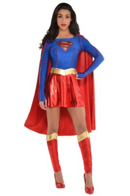 915ea1332 Adult Supergirl Costume - Superman