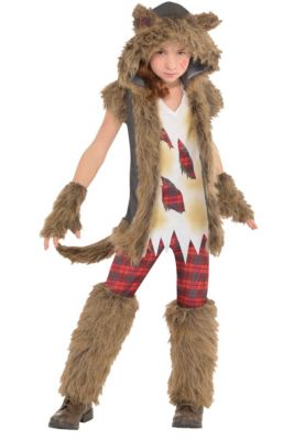 Werewolf costumes for kids adults werewolf halloween costumes girls brown werewolf costume solutioingenieria Choice Image