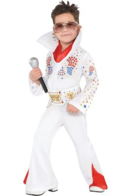 Toddler Boys King of Rock 'n' Roll Costume