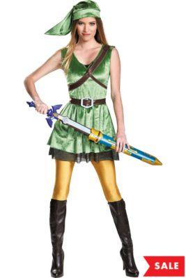 adult link dress costume the legend of zelda