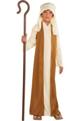 Boys Beige Saint Joseph Costume 46fbe5c53fd9