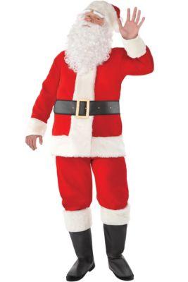 7ec3c520e4360 Adult Velvet Santa Suit