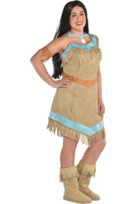 dbc0dc33530 Womens Pocahontas Costume Plus Size - Pocahontas