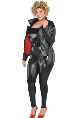 373d3d56ee1 Womens Sandy Olsson Greaser Costume Plus Size - Grease