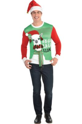 Ugly Christmas Sweaters T Shirts Party City Canada