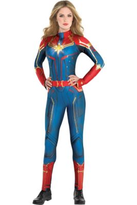 e8cbc43c4 Adult Light-Up Captain Marvel Costume - Captain Marvel