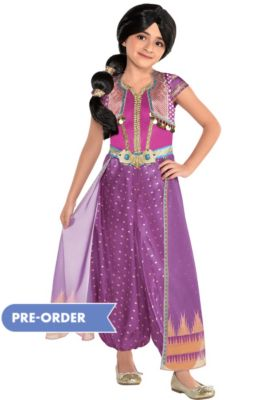 5fe045f40 Child Purple Jasmine Costume - Aladdin Live-Action