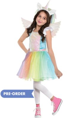 c376fc4d2 Child Iridescent Rainbow Unicorn Costume