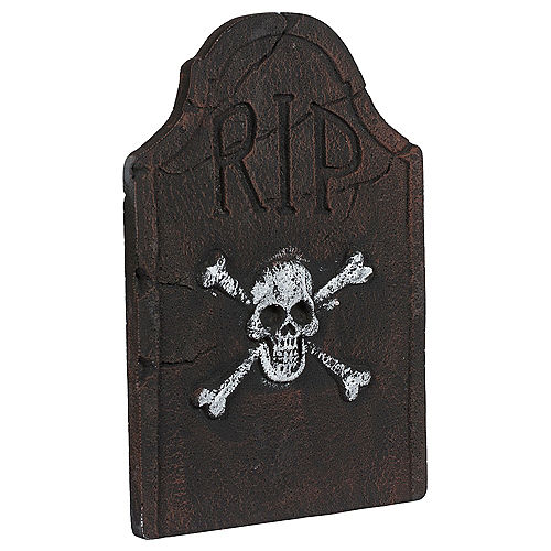 """Halloween Tombstone Scary Decoration with LED 6/"""" 3D RIP"""