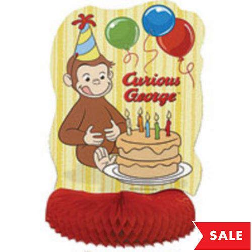 Curious George Centerpiece 14in