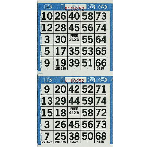 Bingo Game Sheets 125ct