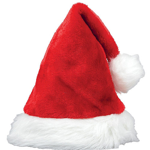 e8de2e91d7a25 Red Plush Santa Hat