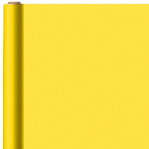 Solid Sunshine Yellow Gift Wrap