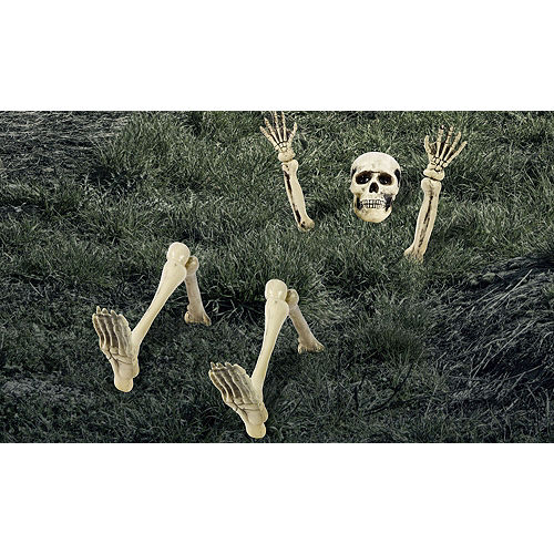 Lawn Skeleton Decoration 12pc