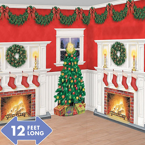 home for christmas room decorating kit 6pc