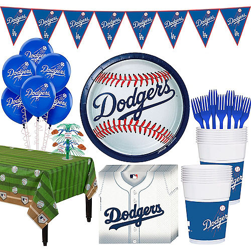 Mlb Los Angeles Dodgers Party Supplies Party City