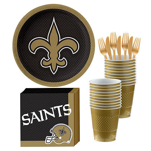 NFL New Orleans Saints Party Kit For 18 Guests