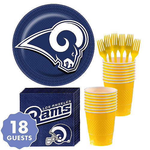 1692e40ce762f Los Angeles Rams Party Supplies   Decorations