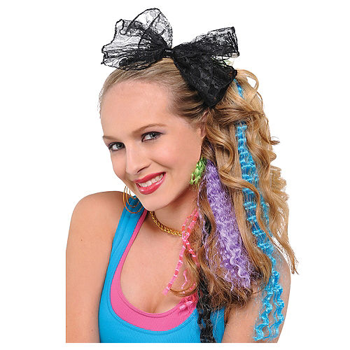 Temporary Hair Color & Clip On Hair Extensions | Party City