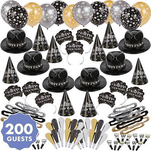 New Year S Eve Party Kits For 10 To 600 Guests Party City