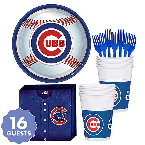 c53c66b021a Chicago Cubs Party Kit for 18 Guests