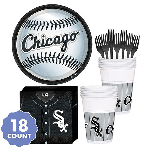 5ff92c9616b Chicago White Sox Party Kit for 18 Guests