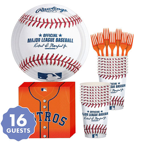 Houston Astros Party Kit for 16 Guests 6e0a7189e8f