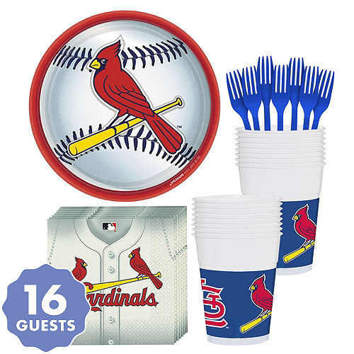 St Louis Cardinals Party Kit For 18 Guests