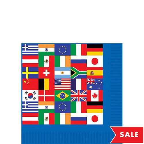 7dbbd51ce70 International Flag Beverage Napkins 16ct